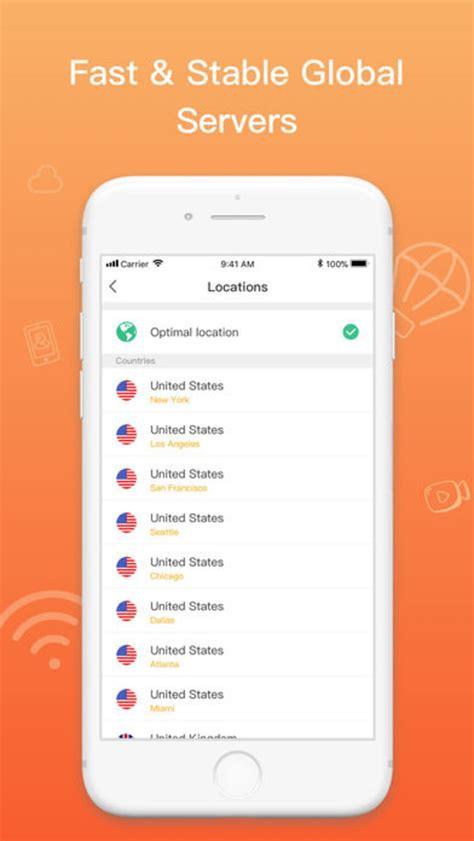 snap vpn proxy hotspot vpn  iphone