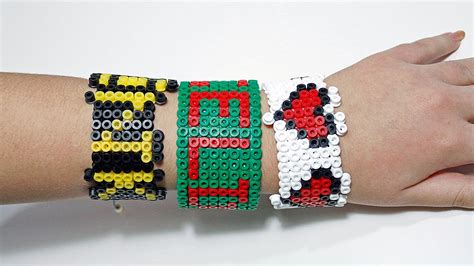 the legend of tre braccialetti hama perler