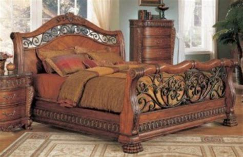 iron and wood bedroom furniture 17 best images about wrought iron beds on pinterest