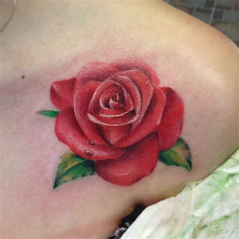 tattoos of red roses the design tattoos