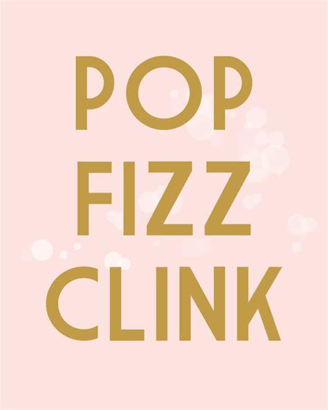 items similar to pop fizz clink 8x10 print fashion wall