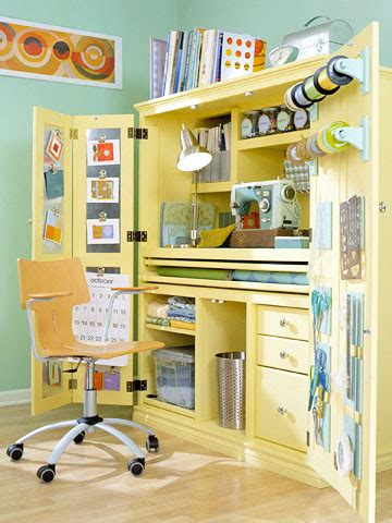 Craft Cabinet Armoire by Restyled Armoires As Hobby Sewing Or Craft Centers