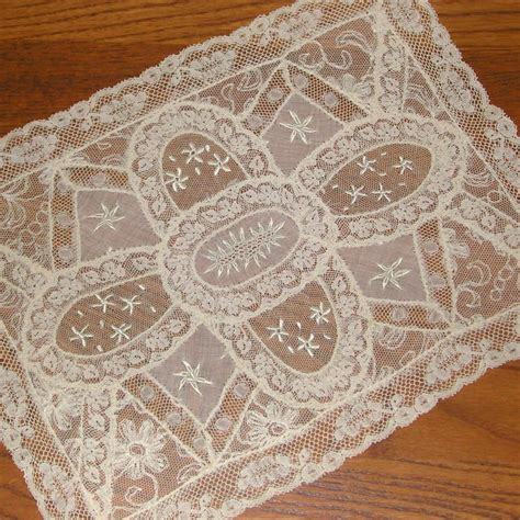 Dresser Doilies by Normandy Lace Dresser Scarf Doily From Lllemon On