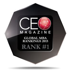 Global Mba Ranking 2015 by Eu Mba Program Tops The Charts In Ceo Magazine Www