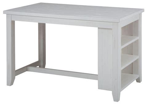 counter height storage madaket reclaimed pine shelf storage counter height dining