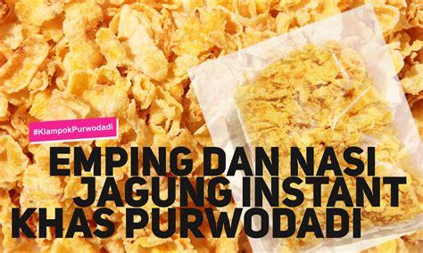 emping  nasi jagung instant khas purwodadi