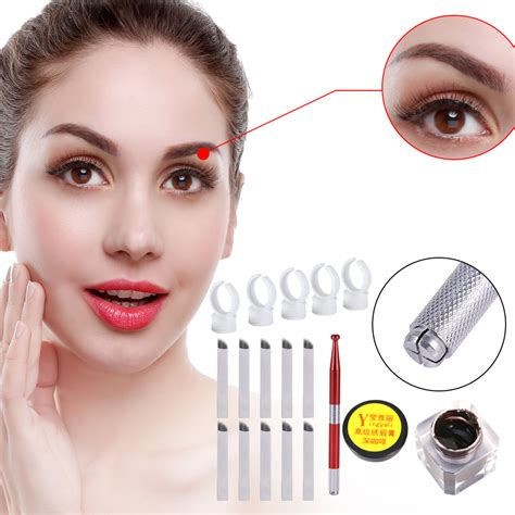tattoo makeup ebay microblading permanent makeup eyebrow tattoo needle pen