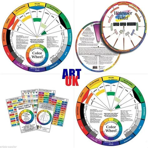 pastel color wheel artists colour wheel mixing guide for paint pastel pencil