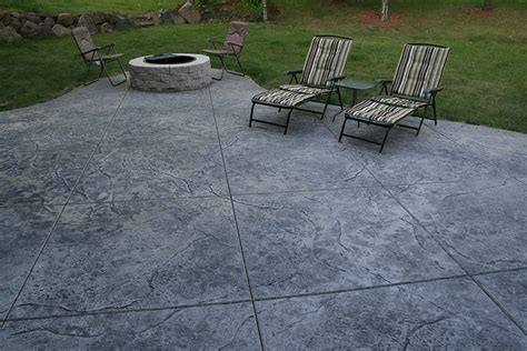 grey patterned concrete seamless sted concrete patio natural with grey