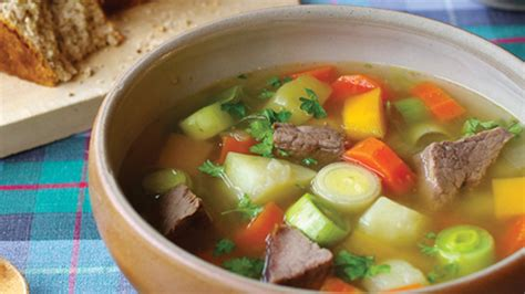 traditional bowl food cawl recipe cooked shanks visit wales