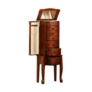 morgan jewelry armoire morgan 6 drawer jewelry armoire classical touch with sears