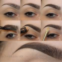 how to color in eyebrows learn how to fill and shape your eyebrows perfectly our