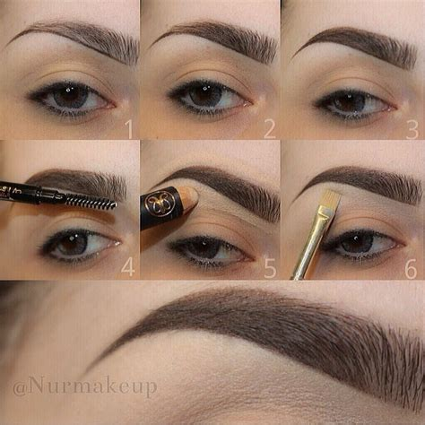 how to fill and shape your eyebrows perfectly alldaychic