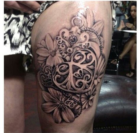 girly tattoo designs on thigh girly leg tattoos pictures to pin on tattooskid
