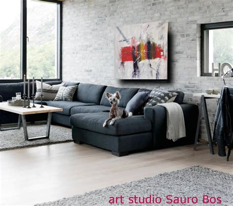 quadro soggiorno moderno quadro astratto moderno quadrato sauro bos
