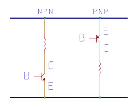 transistor pnp npn cours transistor pnp npn cours 28 images how to remember the direction of pnp and npn transistor