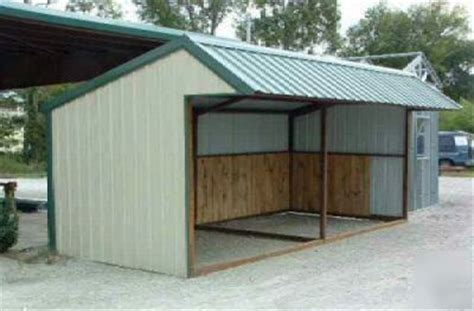 Metal Loafing Shed by 9x20 All Steel Loafing Shed S Next Project
