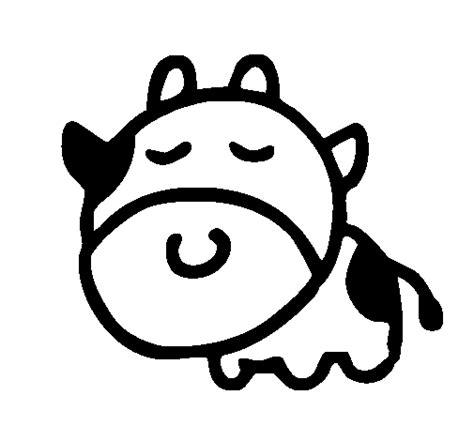imagenes para dibujar una vaca dibujo de vaca cabezona para colorear dibujos net