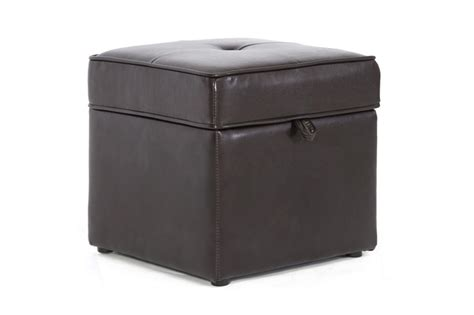affordable storage ottomans baxton studio sydney brown modern ottoman living room