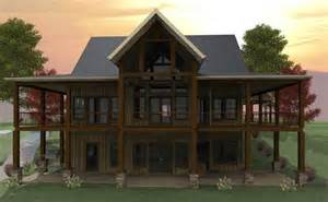 Waterfront House Plans With Walkout Basement Wraparound Porch And Walkout Basement For The Home