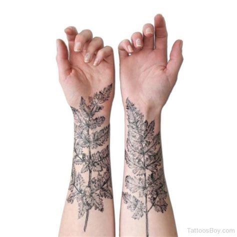 tattoo wrist leaves leaf tattoos tattoo designs tattoo pictures page 6