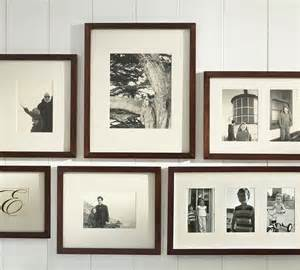 pottery barn wall frames 6 ways to set up a gallery wall