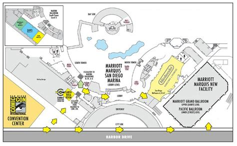 san diego convention center map 09 your complete guide to the new marriott facility