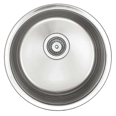 round kitchen sinks stainless steel world imports undercounter stainless steel 16 in x 15 1 2