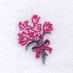 Wedding Bouquet Embroidery by Wedding Bouquet Embroidery Designs Machine Embroidery