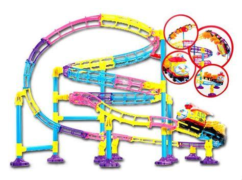 jual terbaik mainan kereta roller coaster    lapak