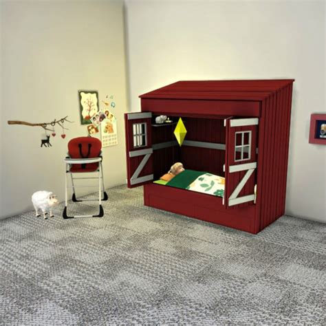 download sims 4 cc bunk beds leo 4 sims toddler house bed sims 4 downloads sims 4