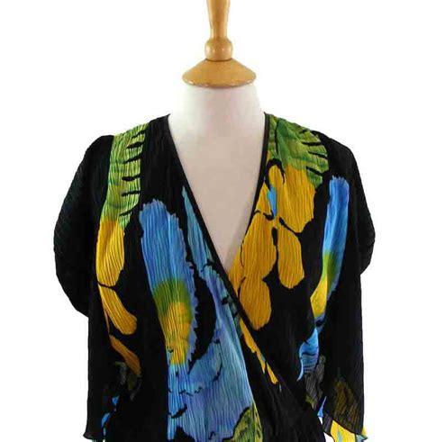 80s floral 80s layered floral dress blue 17 vintage fashion