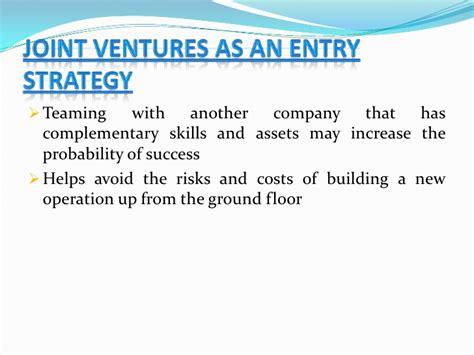 exle of joint venture new ventures