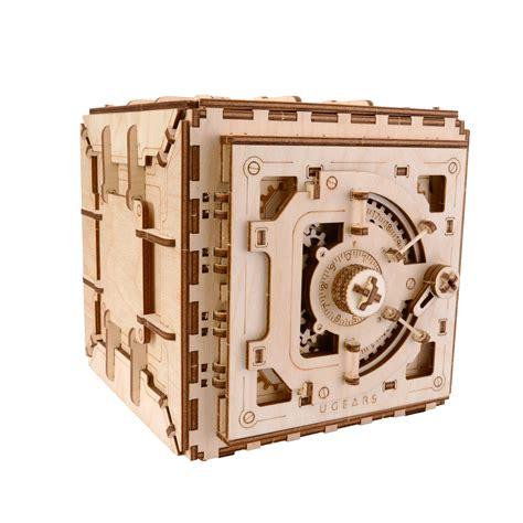 Ugears Model ugears safe puzzle wooden mechanical 3d model