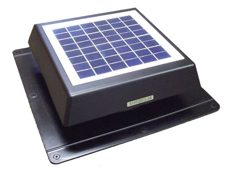 solar powered roof fan rand solar powered attic fan 8 watt rand solar attic fans