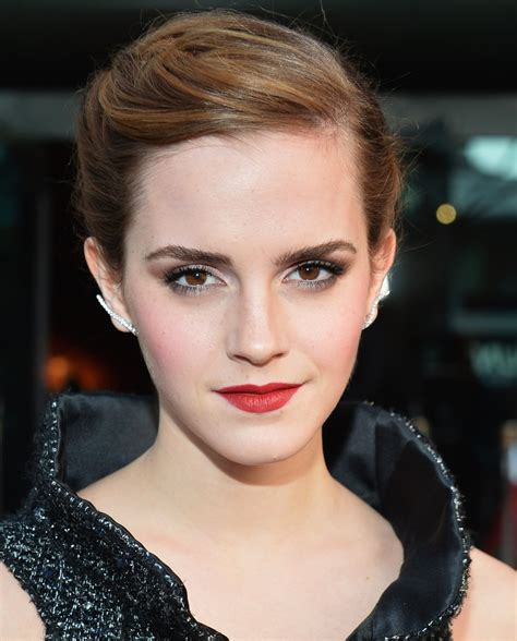 emma watson s hairstylist on her short hair stylecaster