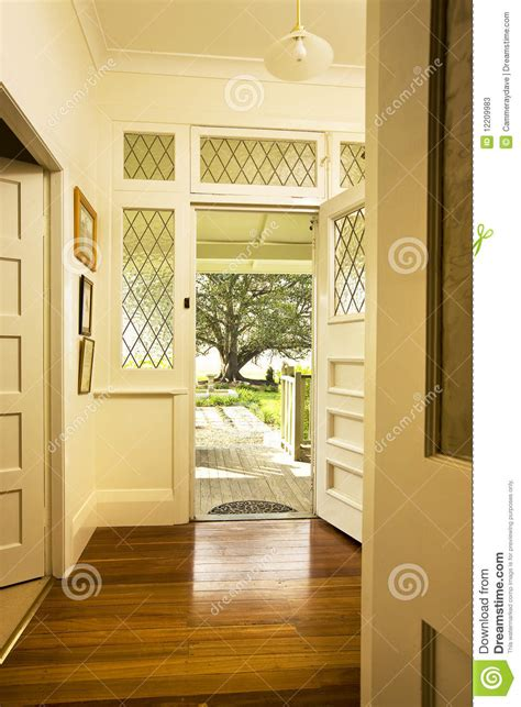 Front Door Interiors Front Door Entrance Interior Stock Image Image 12209983