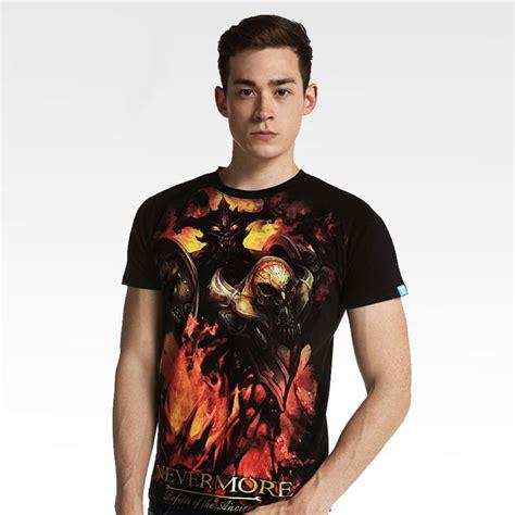 Dota Shirt Black 3d dota black nevermore t shirts for wishining