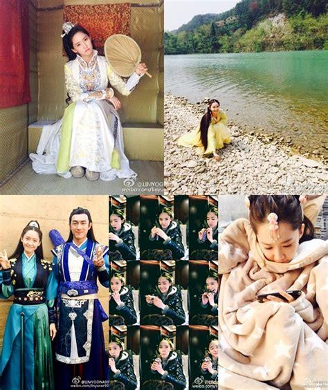 foto yoona di film god of war zhao yun ucapkan terima kasih yoona pamer foto unyu saat syuting