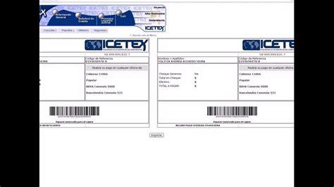 icetex como imprimir el recibo de pago apexwallpapers com view image recibo de prima youtube