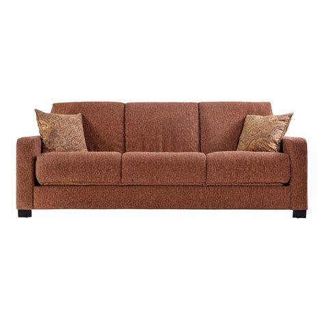 Handy Living Cac1 S60 Hch16 Cabo Chenille Sleeper Sofa Chenille Sleeper Sofa