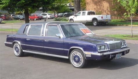 Executive Limousine by Chrysler Executive Limousine Sale