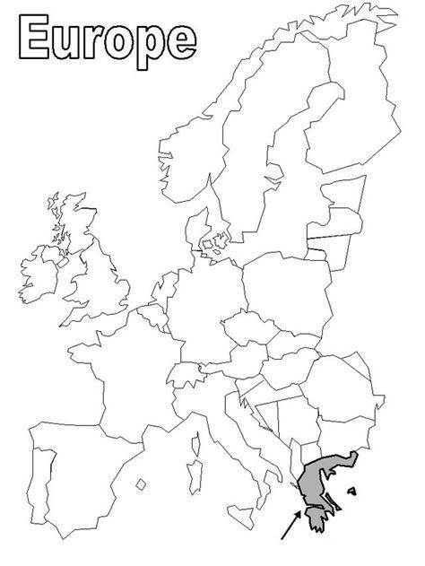 imagenes satelitales para colorear mapas de europa para colorear