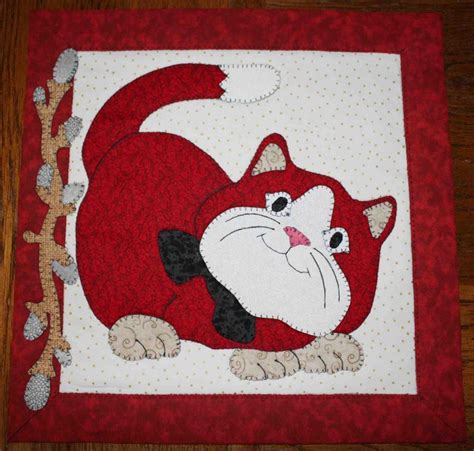 How To Make A Quilt Wall Hanging by You To See Pussywillow Cats Quilted Wall Hangings On