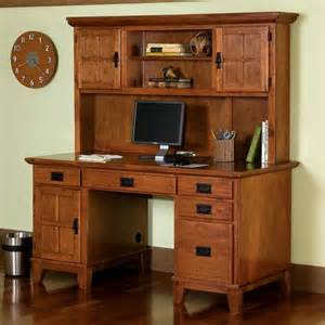 Mission Style Desk With Hutch Office Furniture Mission Furniture Craftsman Furniture