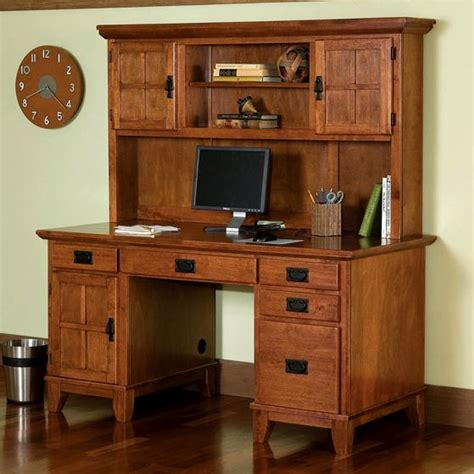 Office Furniture Mission Furniture Craftsman Furniture Mission Style Desk With Hutch