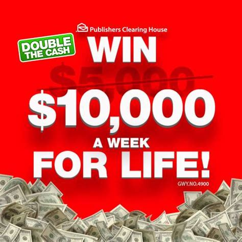 Is Pch 5000 A Week For Life Real - you can win the sweepstakes all by yourself pch blog