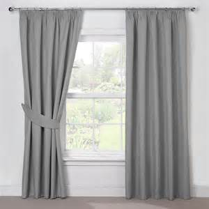 Grey Blackout Curtains Silver Grey Luxury Thermal Blackout Pencil Pleat Curtains Pair Grey Colour Curtains