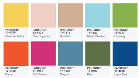 the color for 2017 los 10 colores de moda para la primavera verano 2017 del