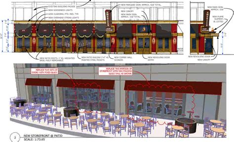 American Tap Room Clarendon by Signage Outdoor Seating Proposed For American Tap Room